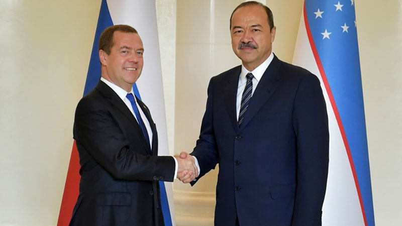 Дмитрий Медведев и Абдулла Арипов