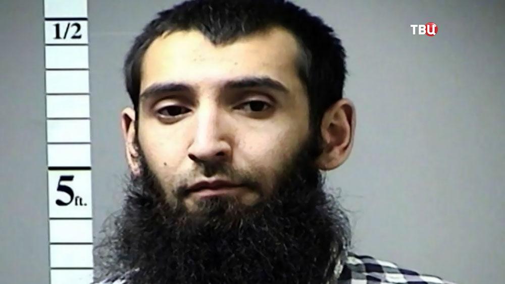 Подозреваемый в совершении теракта в Нью-Йорке Сайфулло Саипов