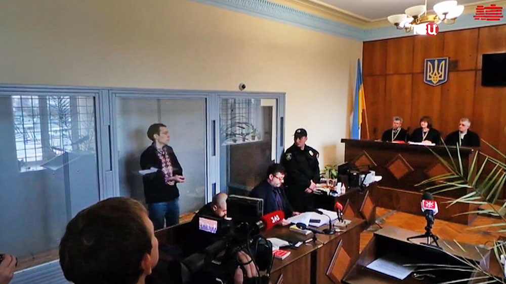 Украинский журналист-блогер Василий Муравицкий в суде