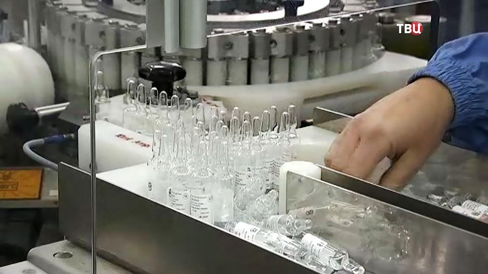 Производство вакцины от полиомиелита