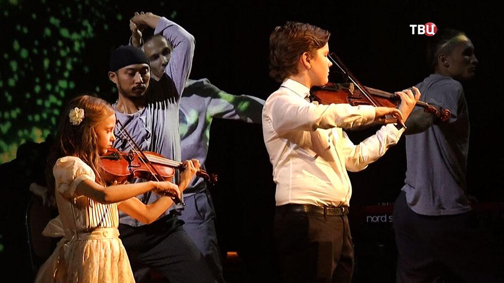 Детский музыкальный ансамбль