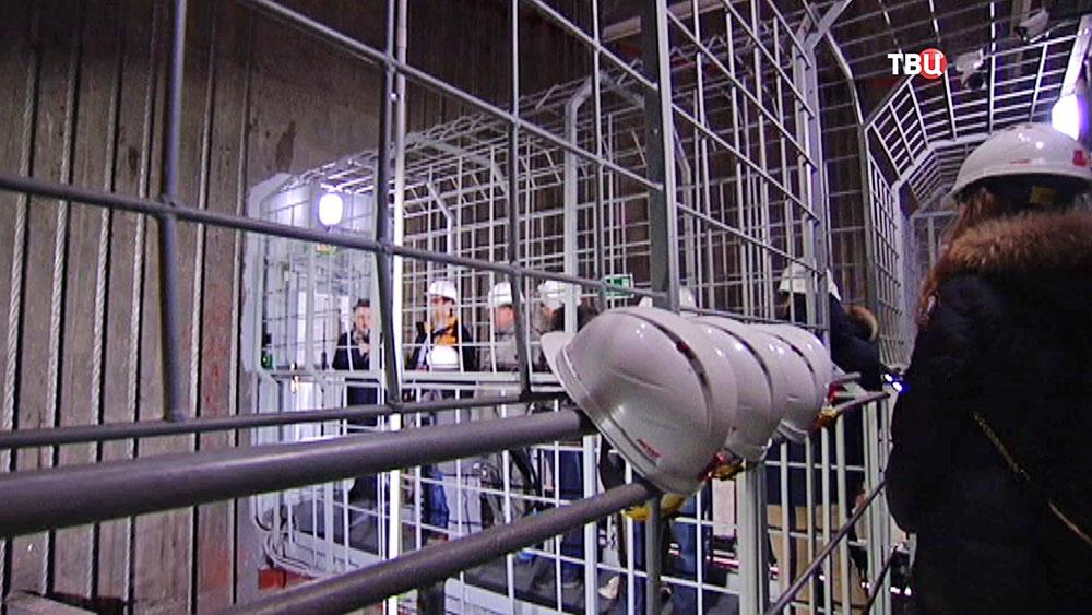 Внутренние помещения Останкинской телебашни