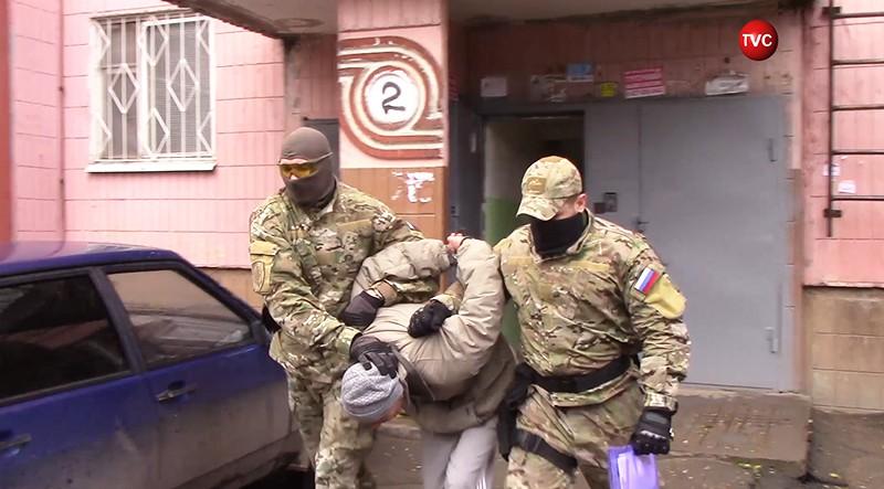 """Задержание экстремистов из """"Артподготовки"""""""