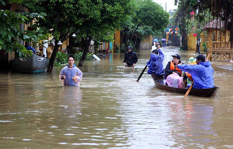 Наводнение во Вьетнаме