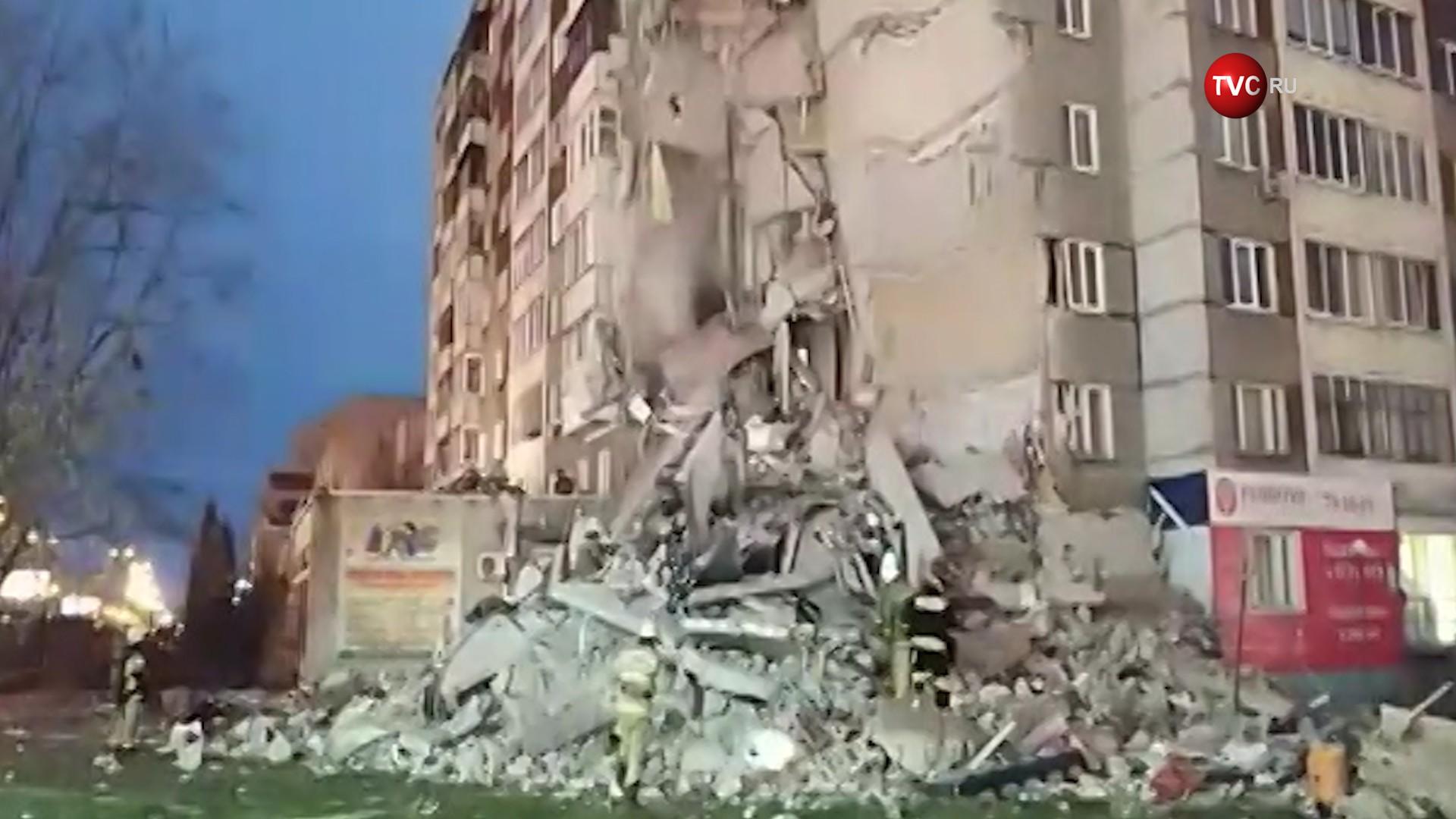 Возросло число жертв при обрушении дома вИжевске