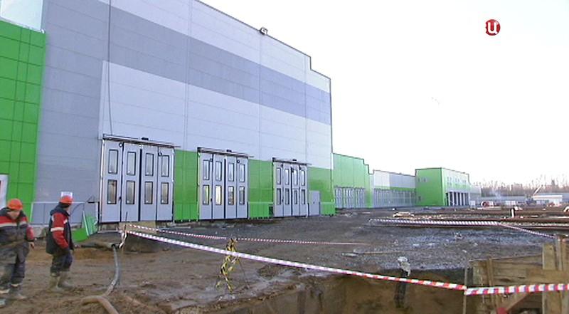 """Строительные работы в электродепо """"Лихоборы"""""""
