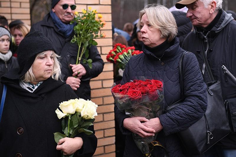 Прощание с сатириком Михаилом Задорновым