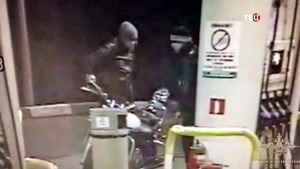 Банда мотоциклистов-грабителей