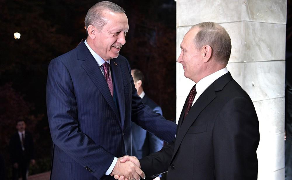 Путин посетит Турцию 11 декабря