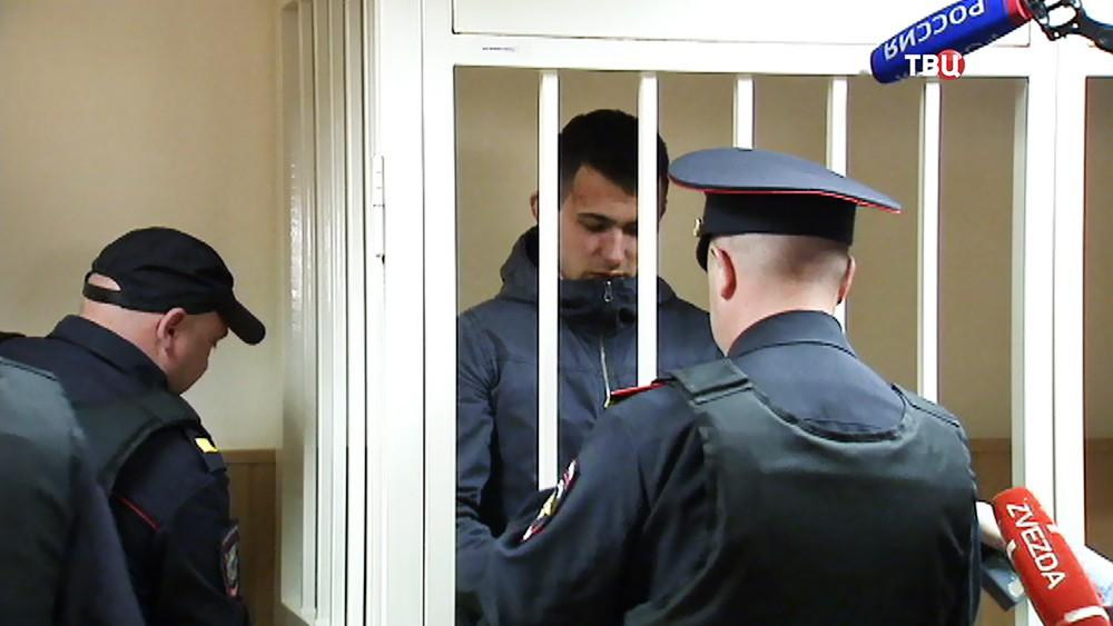 """""""Егорьевский стрелок"""" Илья Асеев в суде"""