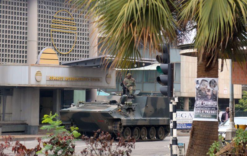Военный переворот в Зимбабве
