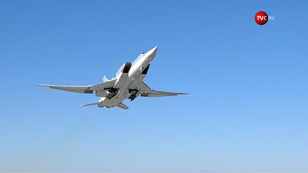 Стратегический бомбардировщик Ту-22 ВКС России