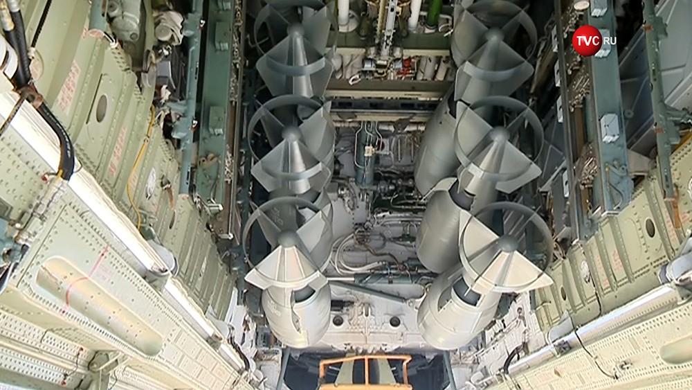 Боевое оснащение стратегического бомбардировщика Ту-22 ВКС России
