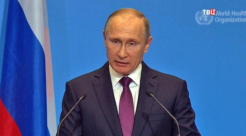Владимир Путин на форуме