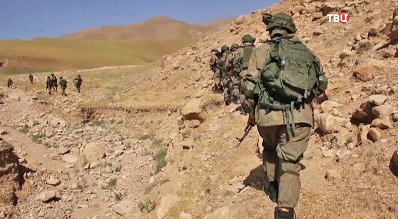 Российский спецназ в Таджикистане
