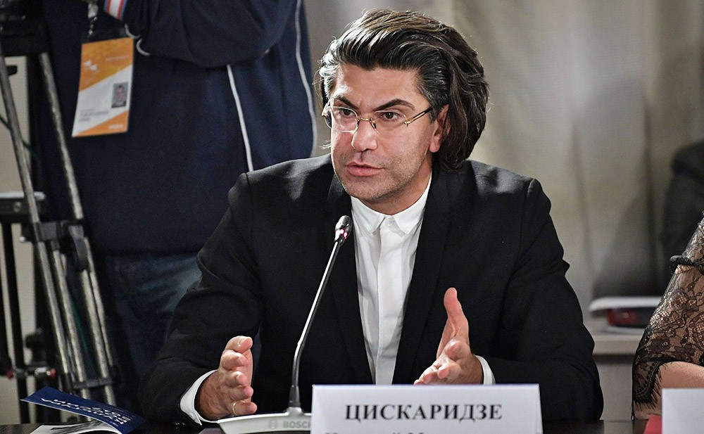 Ректор Академии Русского балета имени А.Я.Вагановой Николай Цискаридзе