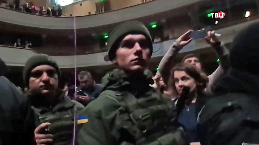 Срыв спектакля Константина Райкина в Одессе