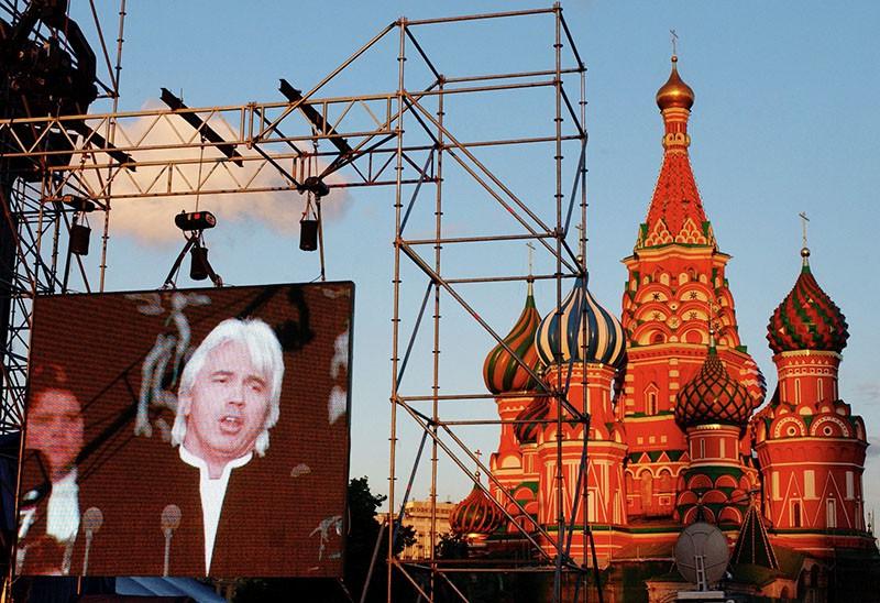 Концерт оперного певца Дмитрия Хворостовского на Красной площади