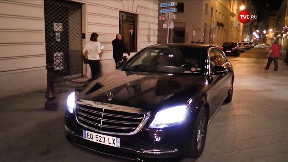 Автомобиль Сулеймана Керимова
