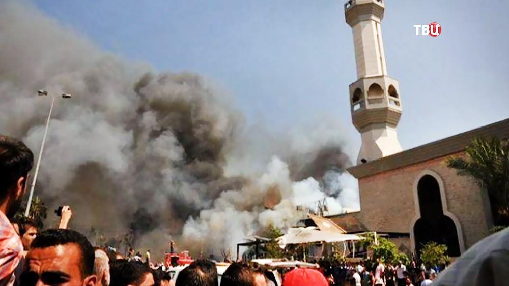 Теракт в мечети в Египте