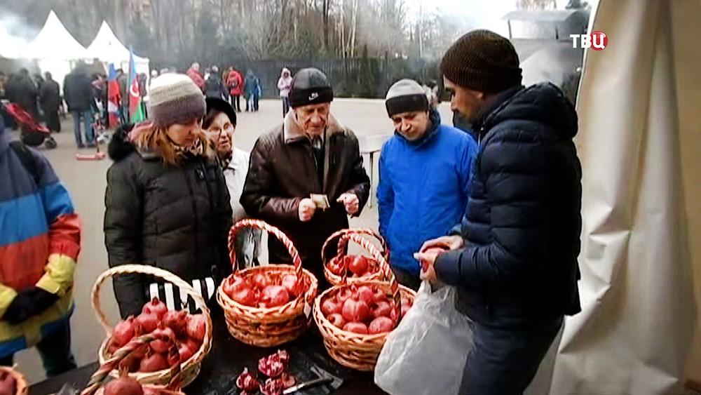 Праздник культуры Азербайджана, посвященный гранату