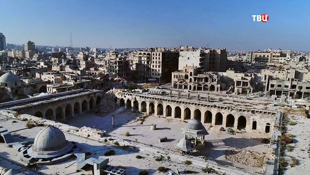 Восстановление памятника ЮНЕСКО, Великой мечети династии Омейядов в Сирии