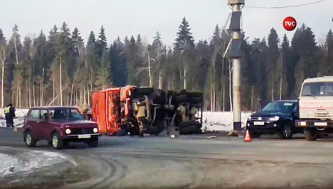 Последствия ДТП с участием грузовика