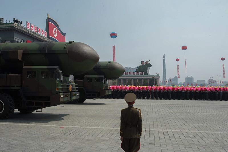 Пусковые установки межконтинентальных баллистических ракет КНДР