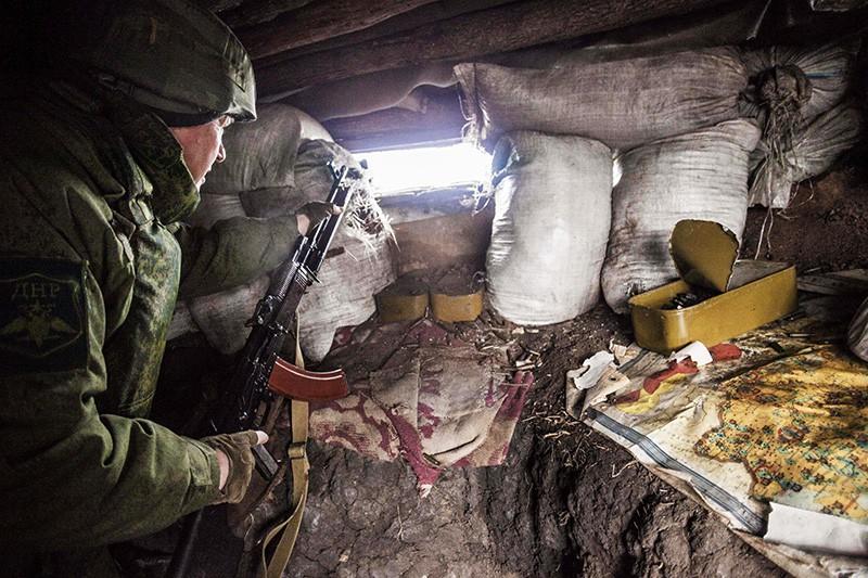 ВСУ выпустили поДНР около 400 мин иснарядов