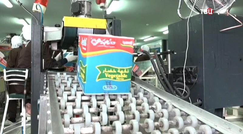 Фабрика по производству макаронных изделий в Сирии