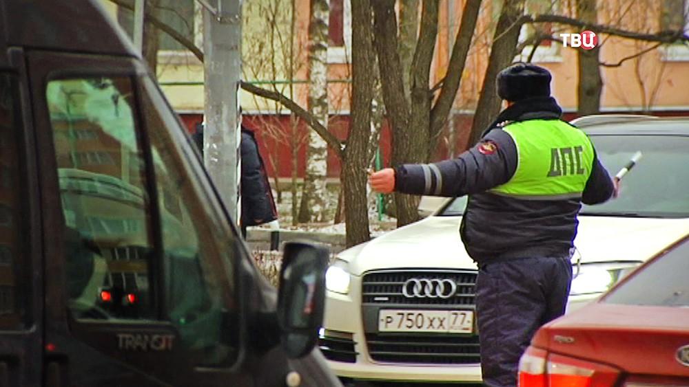 Инспектор ДПС в Москве