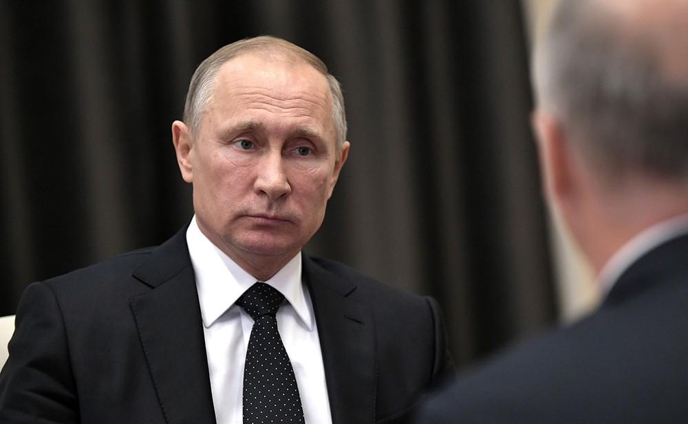 Президент России Владимир Путин и гендиректор – председатель правления Российского фонда прямых инвестиций Кирилл Дмитриев