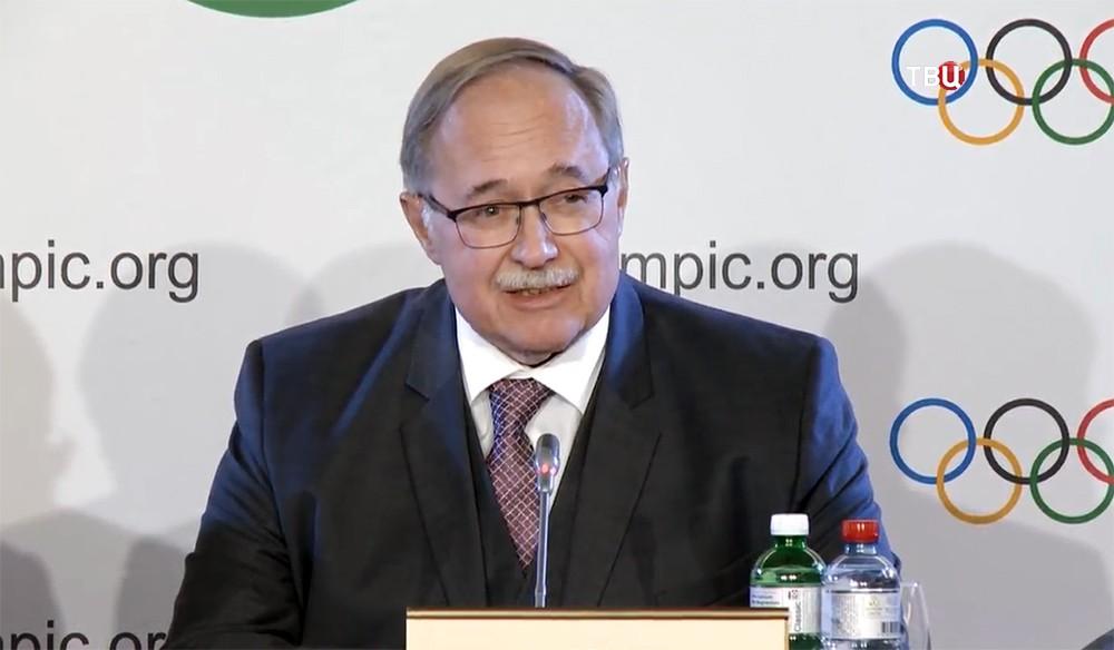 Глава комиссия МОК Самуэль Шмидт