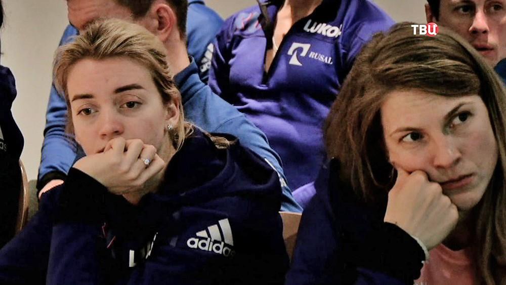 Российские спортсмены узнали об отстранении от Олимпиады