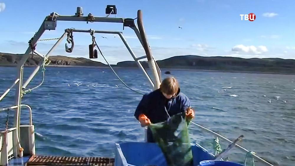 Рыбацкий сухогруз