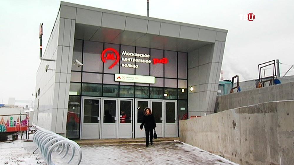 "Станция МЦК ""Шелепиха"""