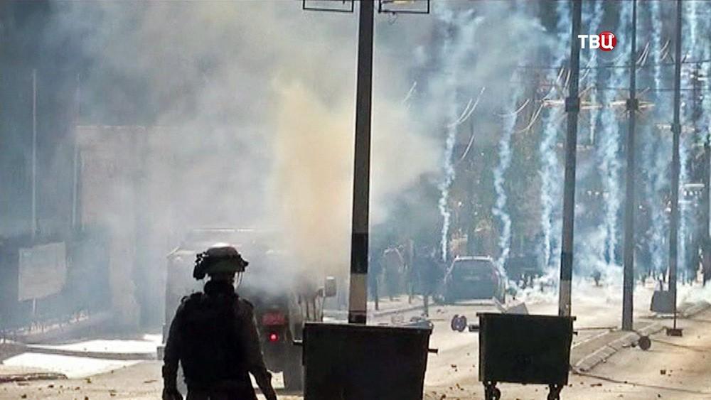 Уличные беспорядки в Иерусалиме