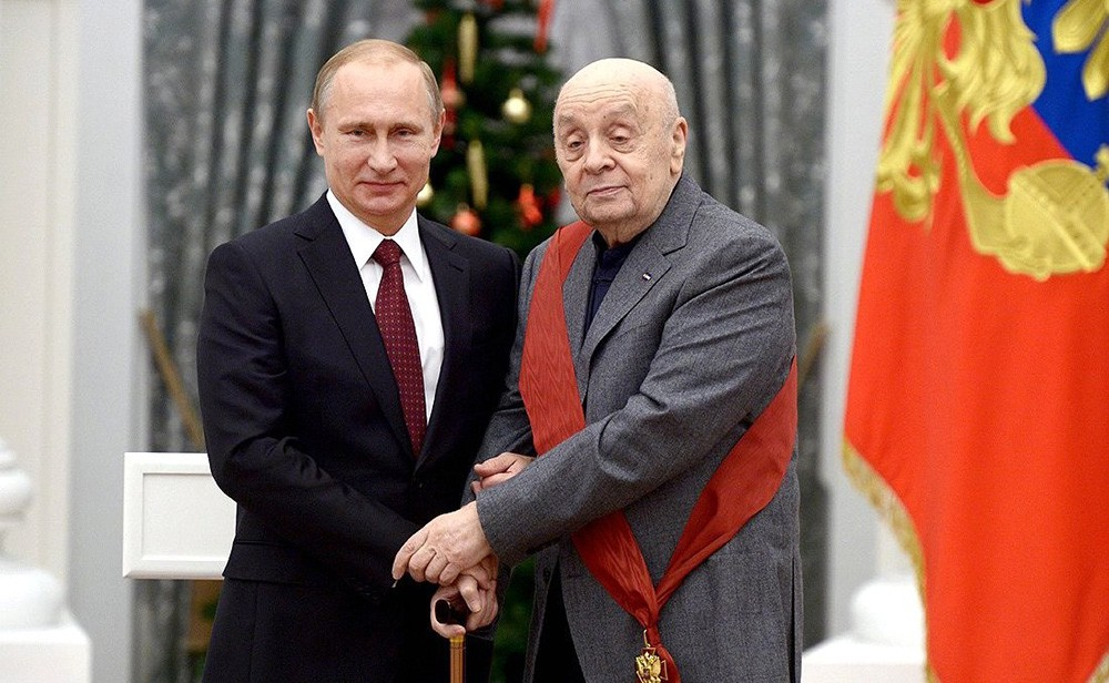 Владимир Путин и Леонид Броневой