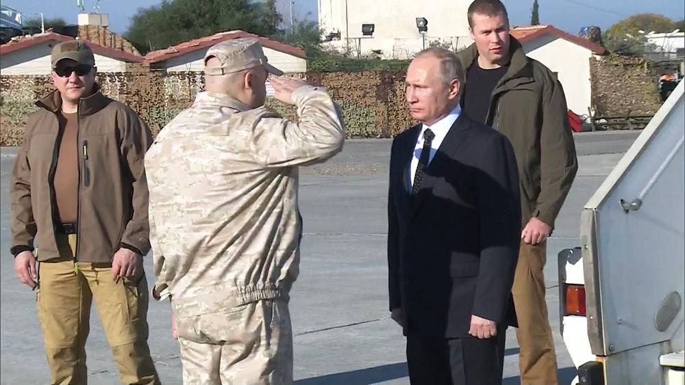 Владимир Путин прибыл в Сирию