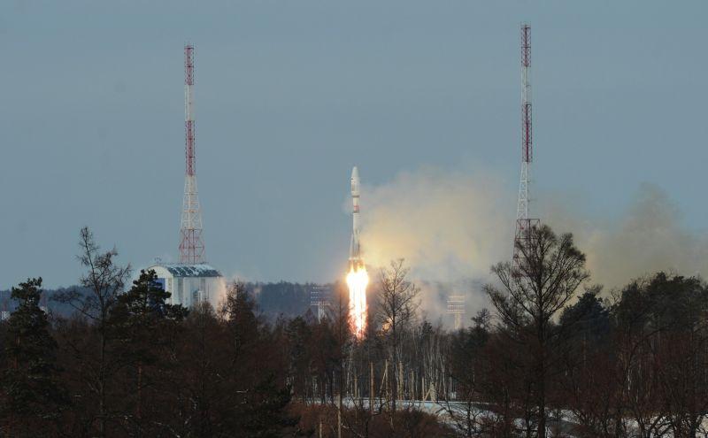 """Старт ракеты-носителя """"Союз-2.1б"""""""