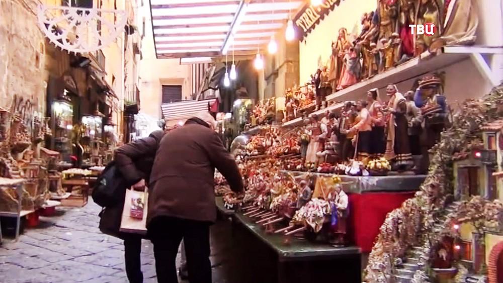 Ярмарка в Италии
