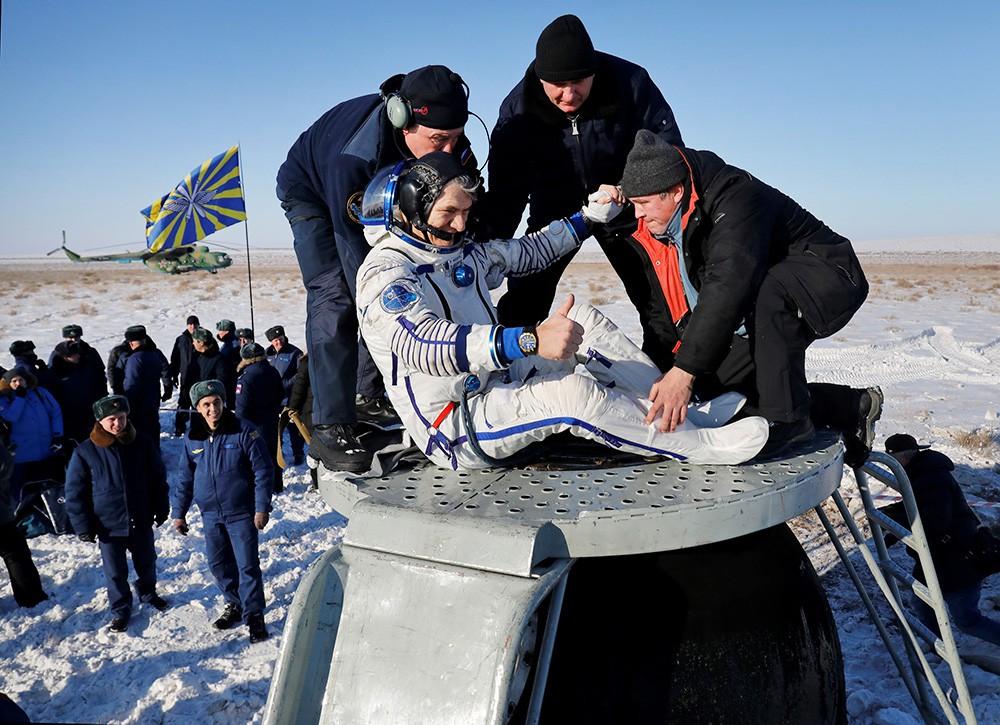 Астронавт ЕSА Паоло Несполи