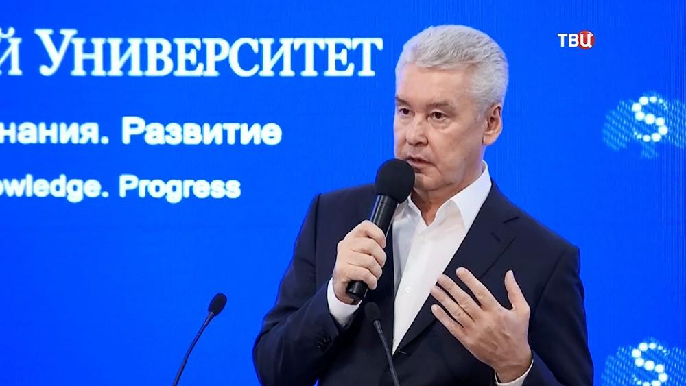 Сергей Собянин посетил университете имени И.М. Сеченова