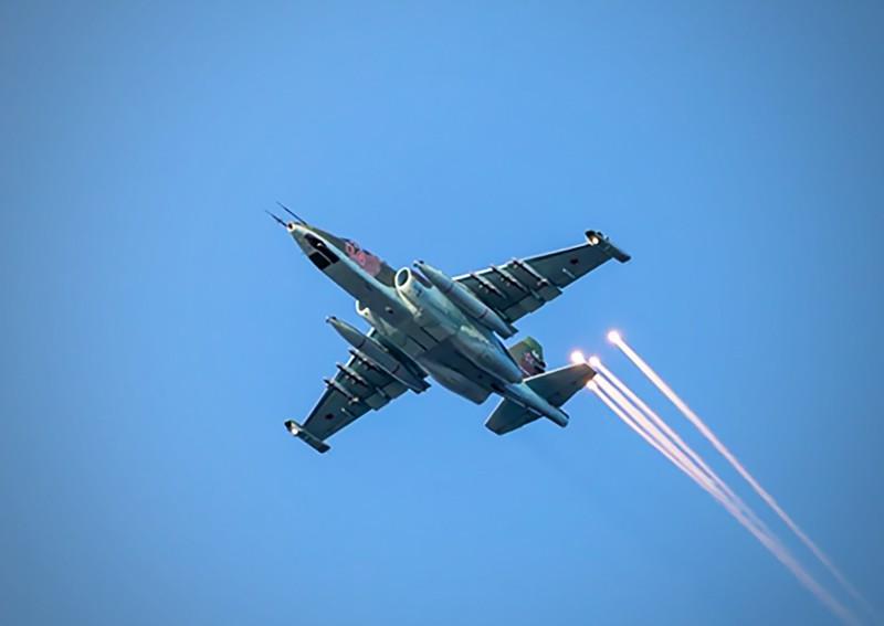 Штурмовик Су-25 ВВС России