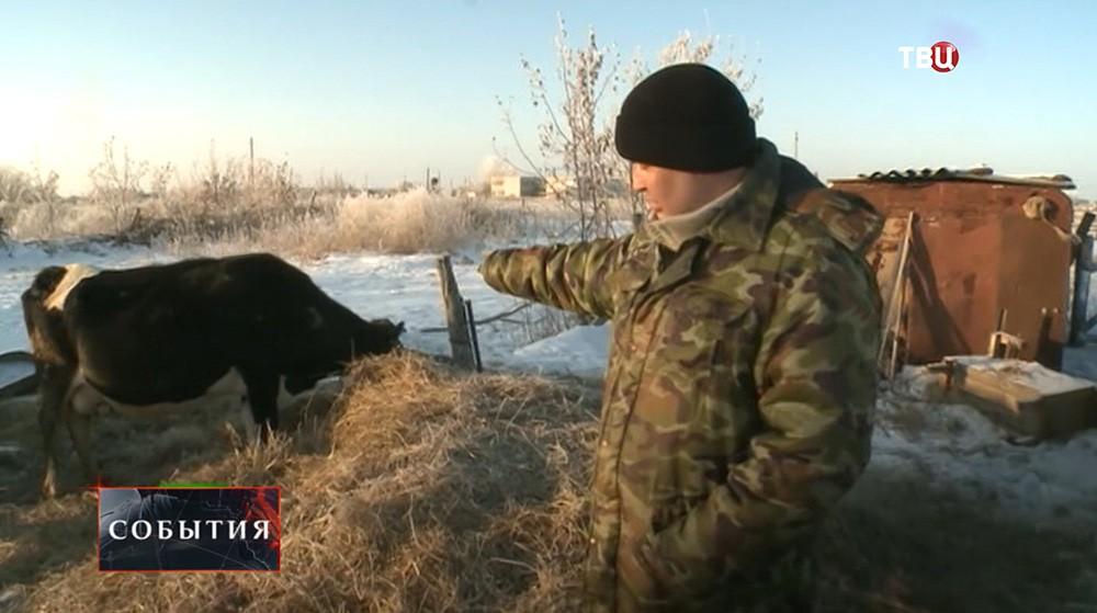 Фермер Евгений Васильев