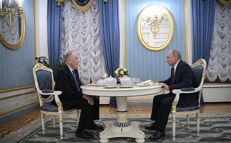 Владимир Путин поздравляет композитора, народного артиста СССР Родиона Щедрина