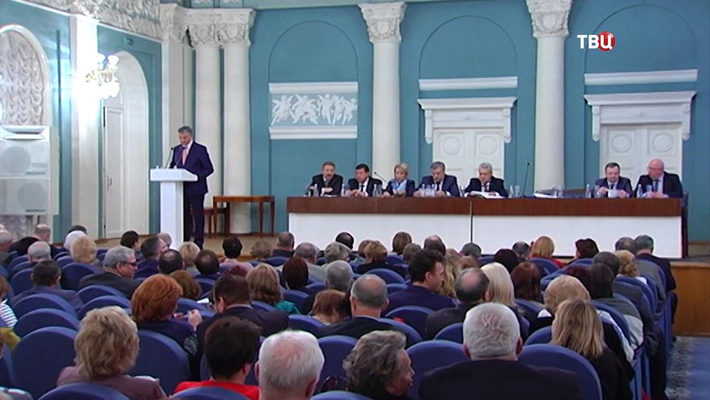 Заседание Совета столичной федерации профсоюзов