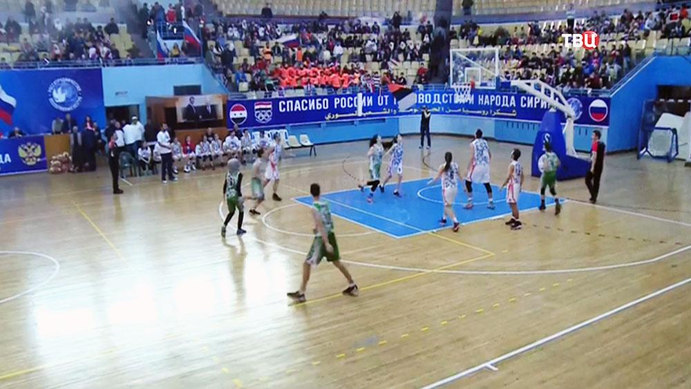 Баскетбольный матч в Сирии
