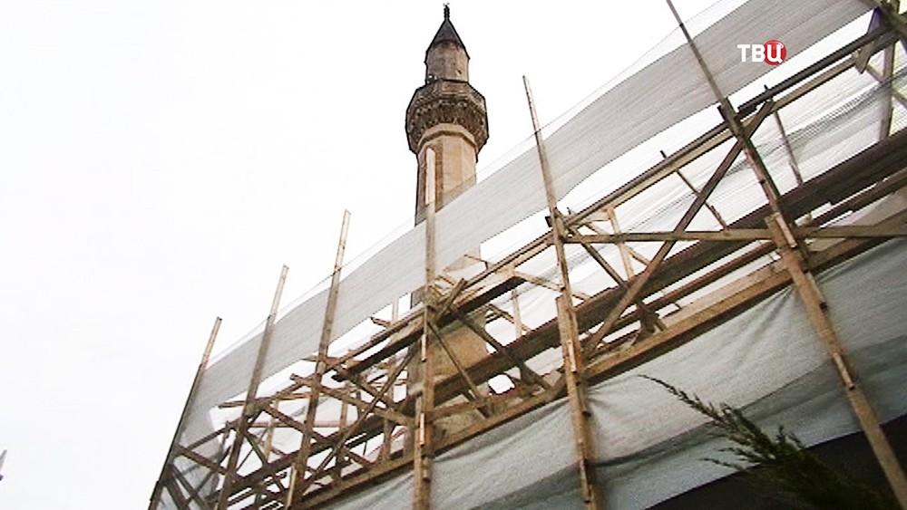 """Реставрация мечети в """"Малом Иерусалиме"""" в Крыму"""