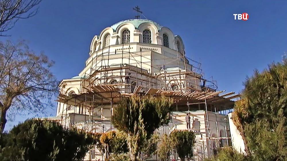 """Реставрация храма в """"Малом Иерусалиме"""" в Крыму"""